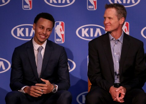 Stephen Curry -  NBA KIA Most Valuable Player