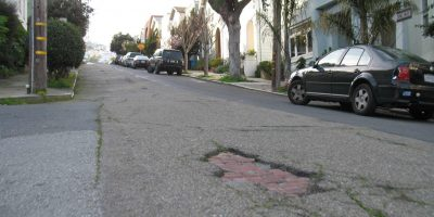 San Francisco Pothole