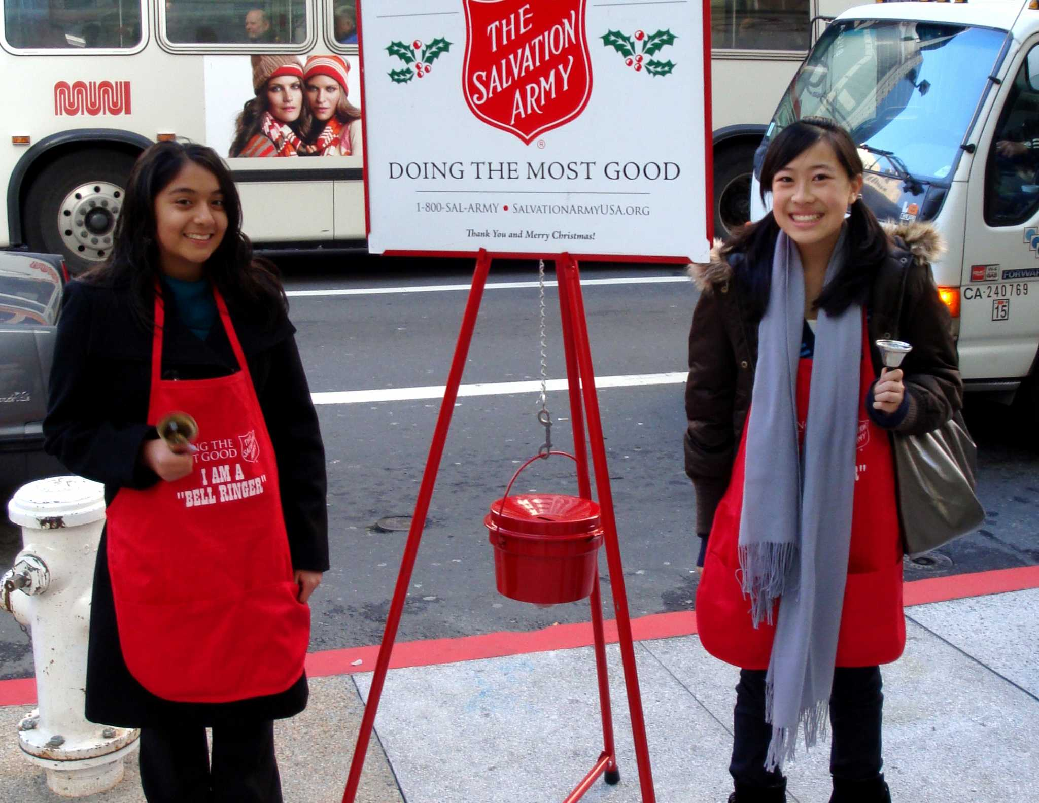 Salvation Army 'desperate' for bell ringers