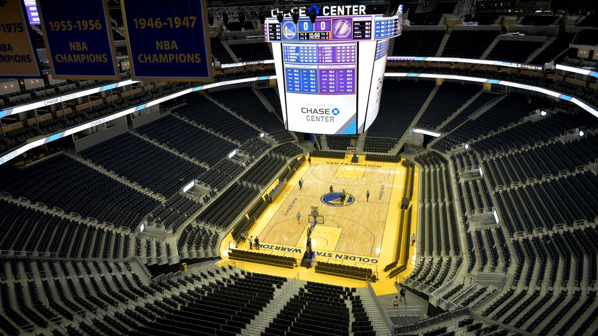 Peek Inside Chase Center The Warriors New 1 4 Billion San Francisco Home Sfbay