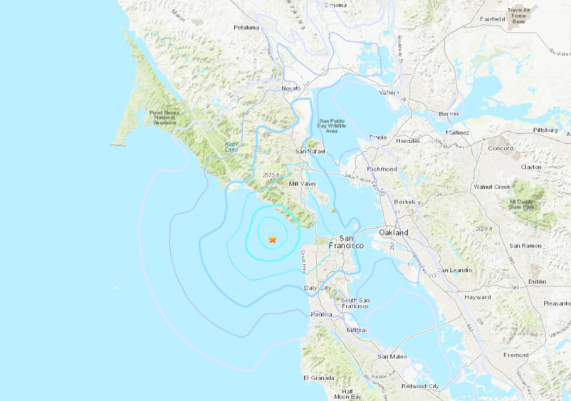 Second Magnitude 3 6 Earthquake Strikes Bay Area Within 24 Hours Sfbay
