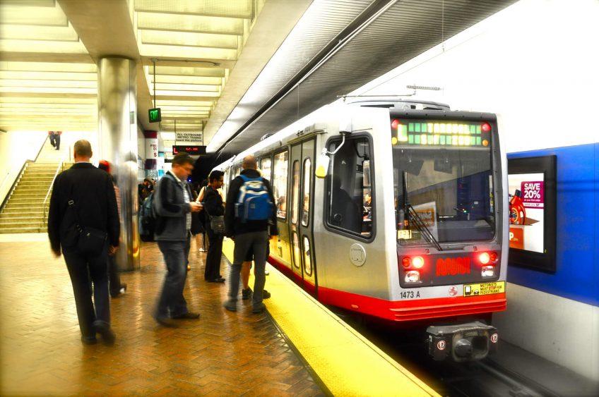 Muni Metro platform