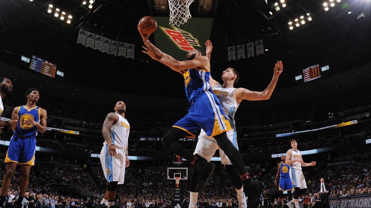 Warriors Nuggets